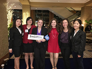 Model UN in Chicago, November 2017