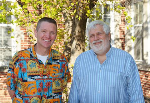 MU political science professors Bill Horner and James Endersby
