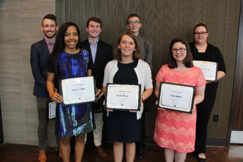 2017 Undergraduate Award Recipients