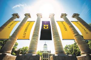 MU Columns with Banners